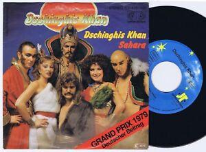 DSCHINGHIS-KHAN-Dschinghis-Khan-German-45PS-1979-Eurovision