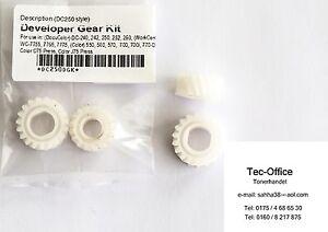 Trempé Xerox Docucolor 240 250 242 252 260 700 Xerox Color 550 560 Developer Gear Kit-afficher Le Titre D'origine