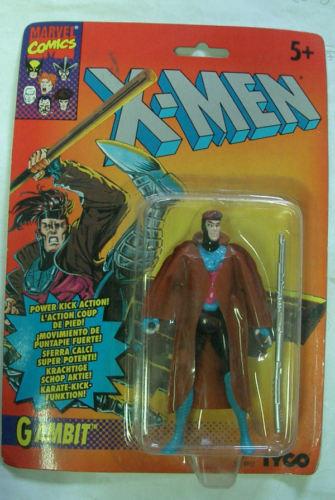 Marvel - x - men tyco toys gambit selten moc 1995