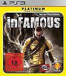 inFamous Sony PlayStation 3 OVP + Anleitung Neuwertig