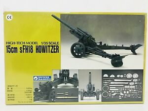 Maqueta-GUNZE-SANGYO-1-35-15Cm-sFH18-HOWITZER-NEW-Nuevo-Sellado-1990