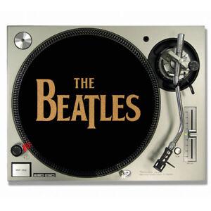 details sur the beatles vinyle liege disques de feutrine platine slip tapis