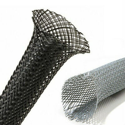 Expandable Braided / Braid Sleeving - 5 metres - MANY SIZES!!!