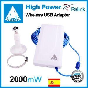 WIFISKY-N89-24dbi-antena-Panel-WIFI-2000mw-2W-MELON-N89