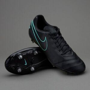 Nike-TIEMPO-Genio-Pelle-II-SG-Scarpe-da-calcio-da-uomo-taglia-UK-11-5-Nuovo-con-Scatola-Niente