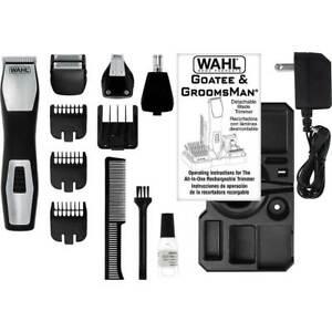 9855-300-Wahl-Groomsman-Pro-Rechargeable-Grooming-Kit-Genuine-BRAND-NEW