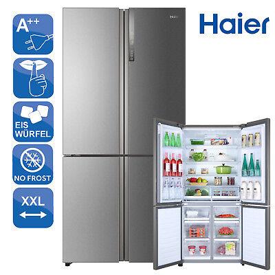 SidebySide Kühl-Gefrierkombination A++ Haier HTF-610DM7 Twist Icemaker T-Door