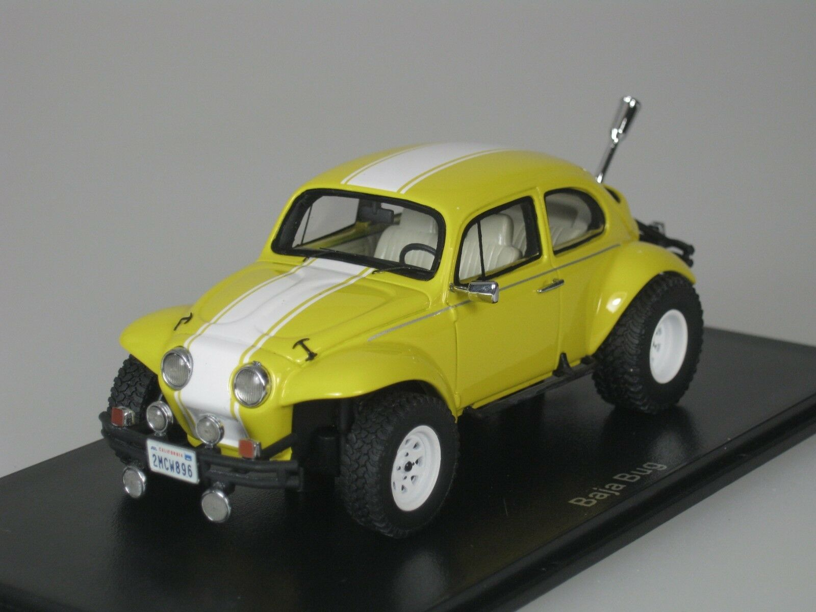 VW Volkswagen Escarabajo Beetle Baja Baja Baja Bug 1969 Amarillo 1 43 Neo 45896 Nuevo ec0e98
