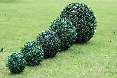 Künstlich Buchsbaum Kugel Ø 12 bis 30 cm Kunstpflanze Kunstbaum Buchsbaumkugel