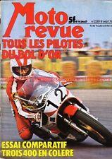 MOTO REVUE 2281 HONDA CB 400 Four YAMAHA RD KAWASAKI KZ OSSA BMW R100 RS /7 1976