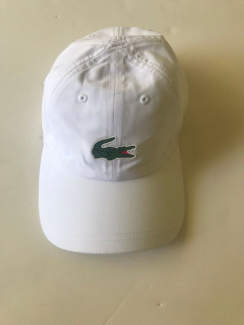 dbaf69fa8cc Lacoste Mens Sport Polyester Cap W  Green Croc White One Size for ...