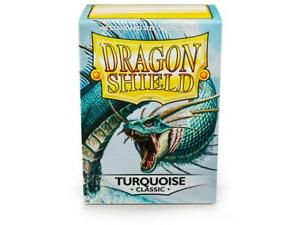 Turquoise-Classic-100-ct-Dragon-Shield-Sleeves-Standard-FREE-SHIPPING-10-OFF-2