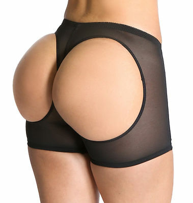 Shapex™ Bum Lifter Booty Boy Shorts Butt Trainer Shapewear PREMIUM SHORTS Size S