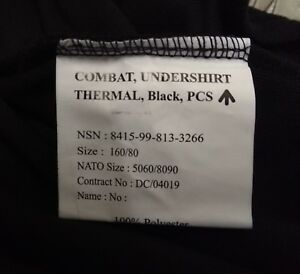 Genuine British Army PCS Thermal Fleece Under shirt Norgie various sizes
