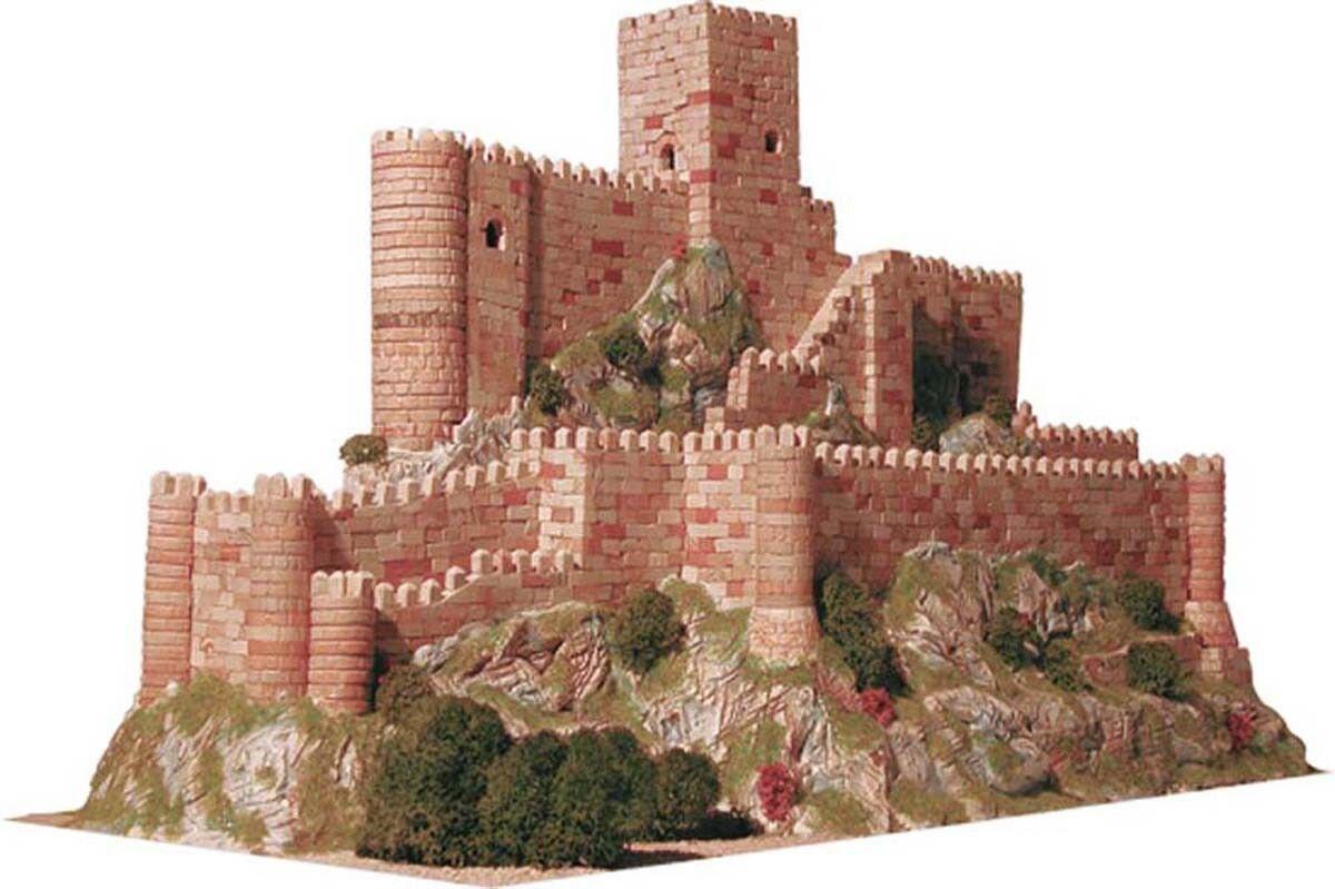 Chateau de Almansa (Espagne) - Ech 1 350 - 3600 pcs - 25 x 51 x 31,5 cm - Dif 7
