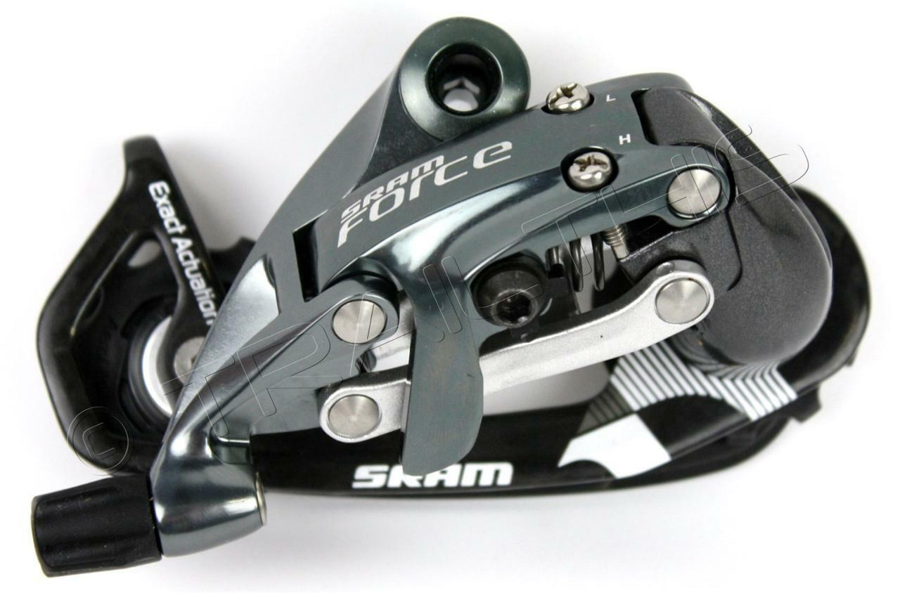 SRAM FORCE WiFli Road Bike Rear Derailleur Medium Cage Carbon Fiber 10-Speed