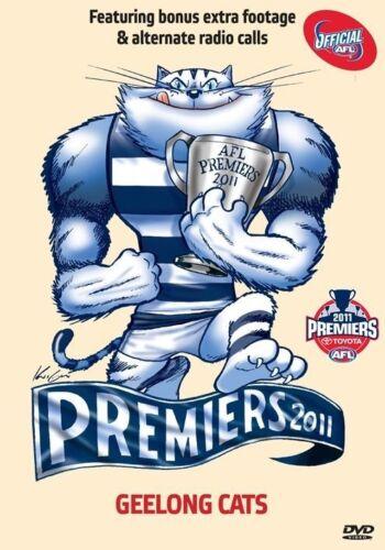 1 of 1 - AFL - 2011 Premiers Geelong (DVD, 2011)(D98)