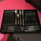Beaufort 84 piece 18/10 stainless steel flatware Service for 12