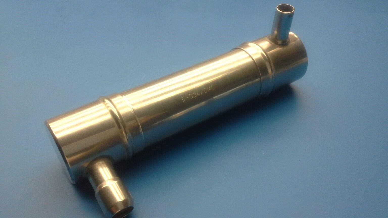 Genuine Lauterbacher Silencer for Lauterbacher 4-Chamber exhaust-pipe 80129