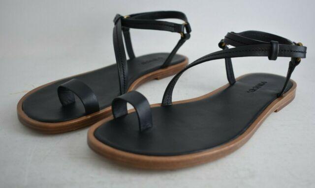 Perrigan Toe Ring Sandals Black
