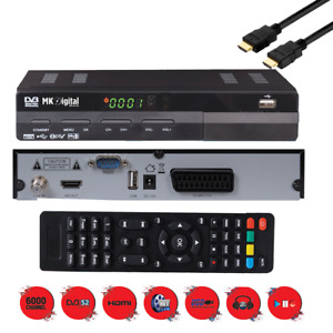 HDTV SAT Receiver MK Digital HD-62se USB  HDMI, DVB-S2,Digital, Full HDTV,Scart