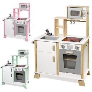 Howa Play cuisine / Cuisine pour enfants    En bois avec plaque de cuisson à led  chefkoch