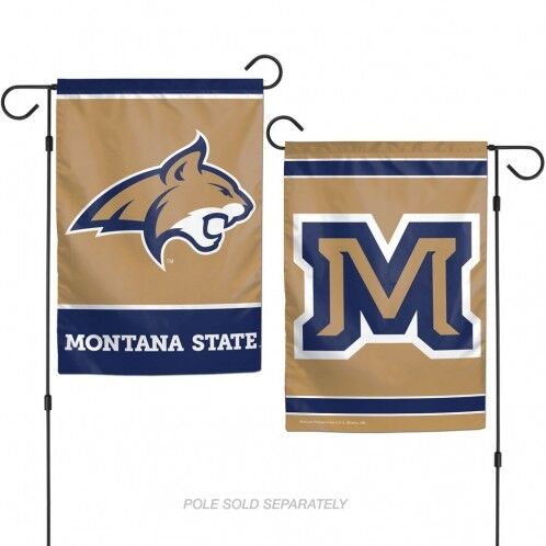"""Montana State Bobcats Garden Flag NCAA Two-Sided 12.5/"""" x 18/"""""""