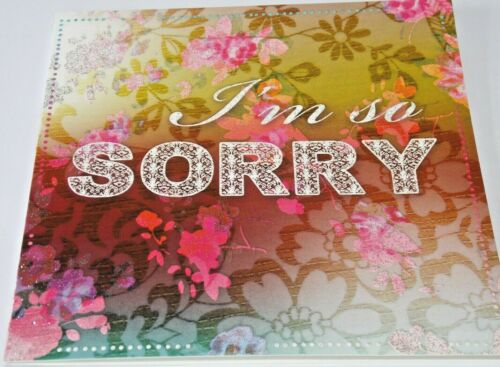 I/'m So Sorry Card Twice as Nice Cards. Flowers Theme
