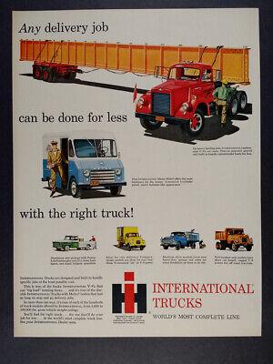 Kenworth Semi Truck 1985 Lithograph Vintage Impact Print #8259 Brad Wagnor 16x20