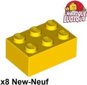 2x3 Yellow Standard Plate Brick Bricks ~  Lego  ~ NEW ~ 10