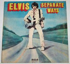 Philippines ELVIS PRESLEY Separate Ways LP Record