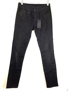R13-New-Allison-Crop-Curtis-Black-Waxed-Jeans-Cotton-Elastane-Skinny-Cropped