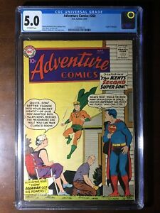 Adventure-Comics-260-1959-1st-Silver-Age-Aquaman-CGC-5-0-Key
