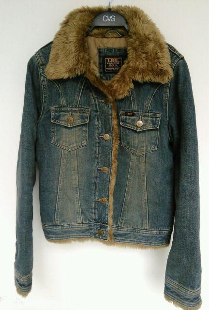 Giubbino Jeans pelo lee vintage jacket hair jeans vintage Lee old rare