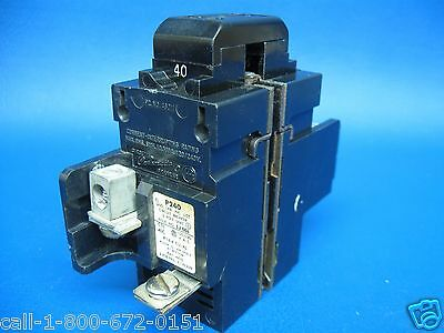 NEW 40 Amp PUSHMATIC Siemens ITE Gould Bulldog 2 Pole or Double 40A BREAKER P240