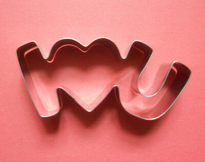Love valentine's day party baking biscuit stainless steel cookie cutter mold