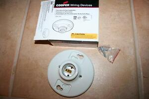 Awe Inspiring New Cooper Wiring Devices 1 Pc White 604 Porcelain Ceiling Wiring 101 Akebretraxxcnl
