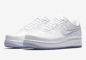 reputable site 5cec3 78fe1 Details about NIKE AF1 AIR FORCE 1 FOAMPOSITE PRO CUP CUPSOLE AJ3664 100  TRIPLE WHITE