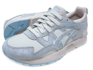 2017 ASICS GEL LYTE V SZ 8 BLUE MOON BEAM LIGHT GREY HL6H0-3713