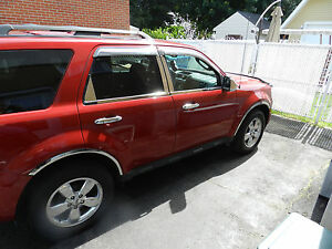 Image Is Loading Ford Escape Chrome Fender Trims Fits 2008 2017