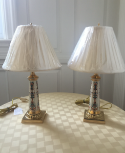 Phenomenal Details About Lenox Buffet Lamps Home Interior And Landscaping Elinuenasavecom