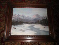 California Plein Air Impressionism High Sierra Mountain Landscape Oil Painting