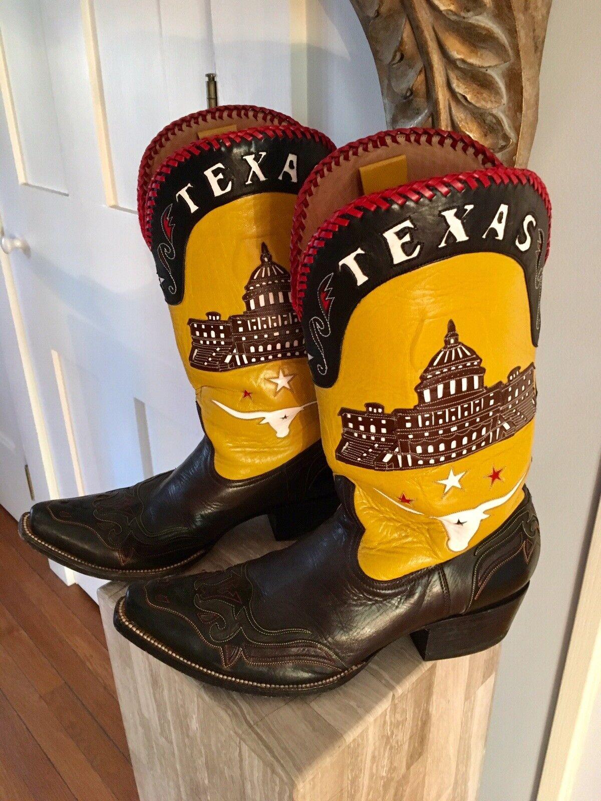 Heritage bota Co, Austin Texas, hombre  capital de Texas  botas De Vaquero