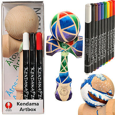 SunRise ArtBox Kendama - Create your own Design - Beech Wood EKA Certified