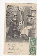 Veillee Bressanne France 1907 Postcard 273a