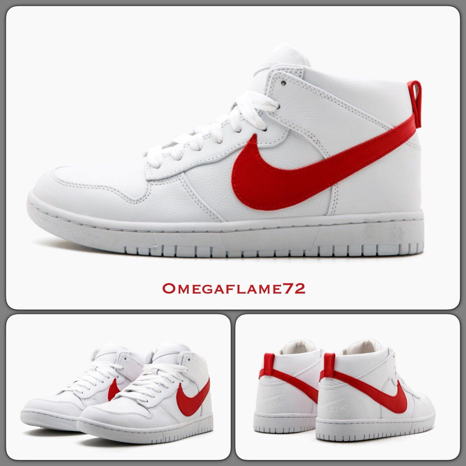 Nike Dunk Lux Chukka RT 910088-100,10.5, EU 45.5, US 11.5, Riccardo Tisci