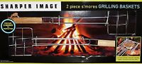 Sharper Image S'mores 2 Piece Kit Grilling Basket