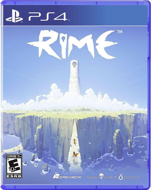 PLAYSTATION 4 PS4 videogioco RIME SIGILLATO Nuovo di zecca e