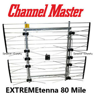 Extremetenna 80 Mile Roof Attict Mast Long Range Antenna