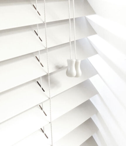 MADE IN UK currently 35mm slats only NEW REAL WOOD BLINDS